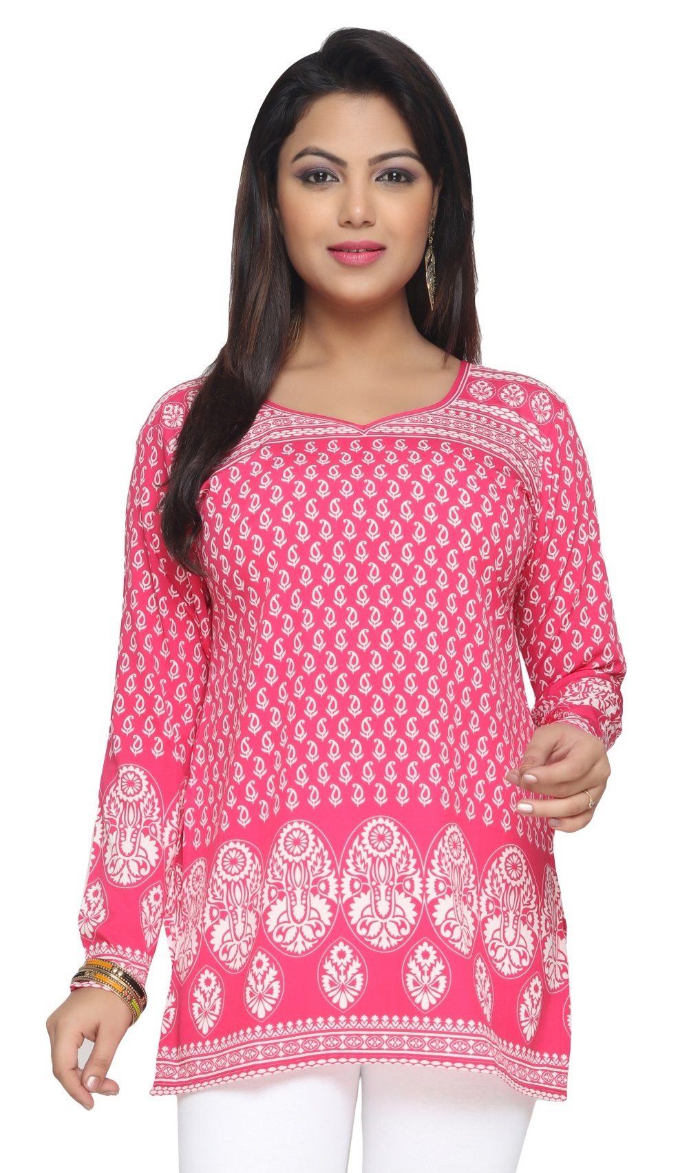 Women Indian Short Kurti Tunic Top Dress EVENT142B