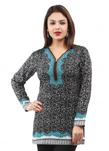 Women Indian Short Kurti Tunic Top Dress EVENT40D