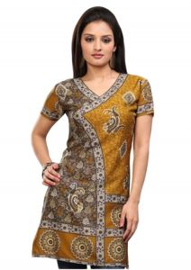 Women Indian Short Kurti Tunic Top Dress EVENT43A