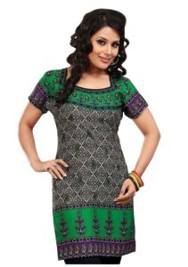 Women Indian Short Kurti Tunic Top Dress EVENT54C