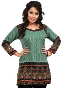 Women Indian Short Kurti Tunic Top Dress EVENT55C