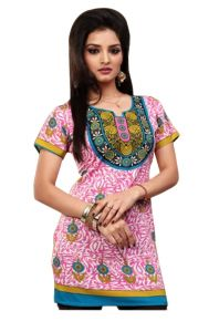 Women Indian Short Kurti Tunic Dress EVENT57A