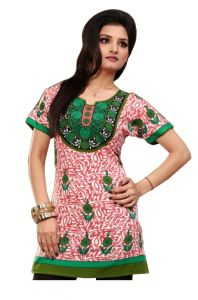 Women Indian Short Kurti Tunic Dress EVENT57C